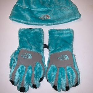 The North Face Beanie And Gloves